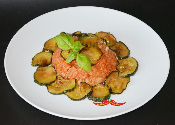 Pappa+Al+Pomodoro+e+Zucchine+trifolate