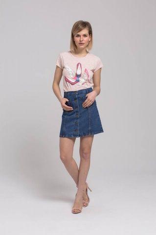Φούστα Τζιν με 25,00€ – Γυναικεία Ρούχα στο Rich Girl Boudoir, Γυναικεία Μόδα, Ρούχα