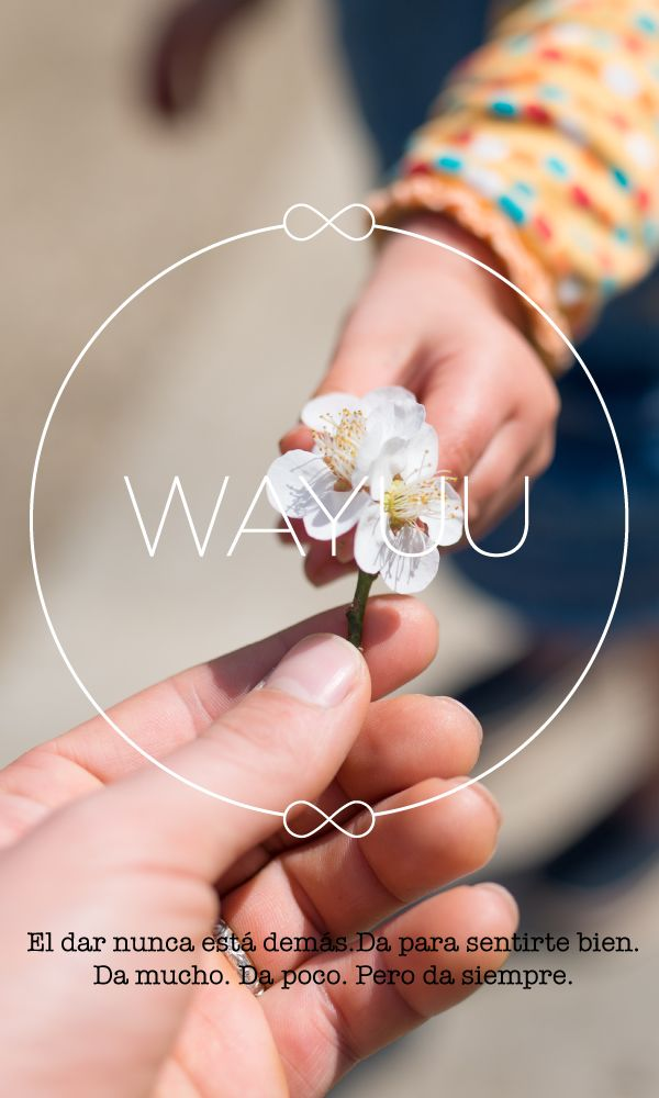En Wayuu creamos el espacio ideal para aprender, transformarte y vivir la mejor versión de tu vida. ¡Conócenos!  #Dar #Da