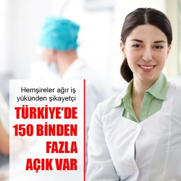 """TÜRKİYE'DE 150 BİNDENFAZLA AÇIK VAR Sağlık Bakanlığı tarafından açıklanan en son verilere göre Türkiye'de 150 binin üzerinde hemşire görev yaparken, 2023 yılına kadar hemşire sayısının 300 bine çıkarılmasının hedeflendiği belirlendi. İstatistiklere göre aralarında Türkiye'nin de bulunduğu Avrupa ülkelerinde her 100 bin kişiye düşen hemşire sayısı 802 iken Türkiye'de ise bu sayının 251 olduğu tespit edildi. Interpress'in """"Hemşireler Haftası"""" dolayısıyla yapmış olduğu araştırmaya göre…"""