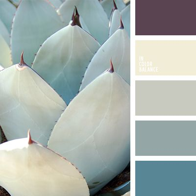 Warm shades of greenish-gray color mixed with the warm tones of blue-green organically fit into the design space in a modern style or fusion. A feeling of comfort will add a dull yellow and warm, almost black-purple color