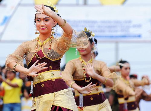 Lampung dancer. Indonesia