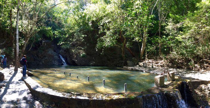 Poza El Salton en Bosque de Cinquera, El Salvador | suchitoto.tours@gmail.com