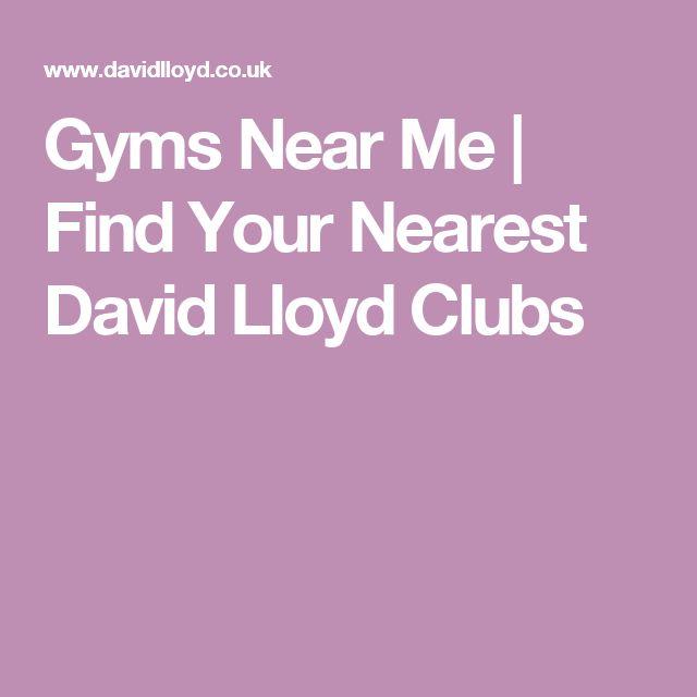 Gyms Near Me | Find Your Nearest David Lloyd Clubs