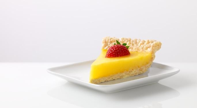 Marshmallow Crispy Lemon Pie #JELLO