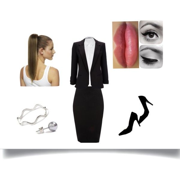 for the exam by own-style on Polyvore featuring moda, Steffen Schraut, Wallis, Jane Norman, Forever 21 and Love Hair Extensions