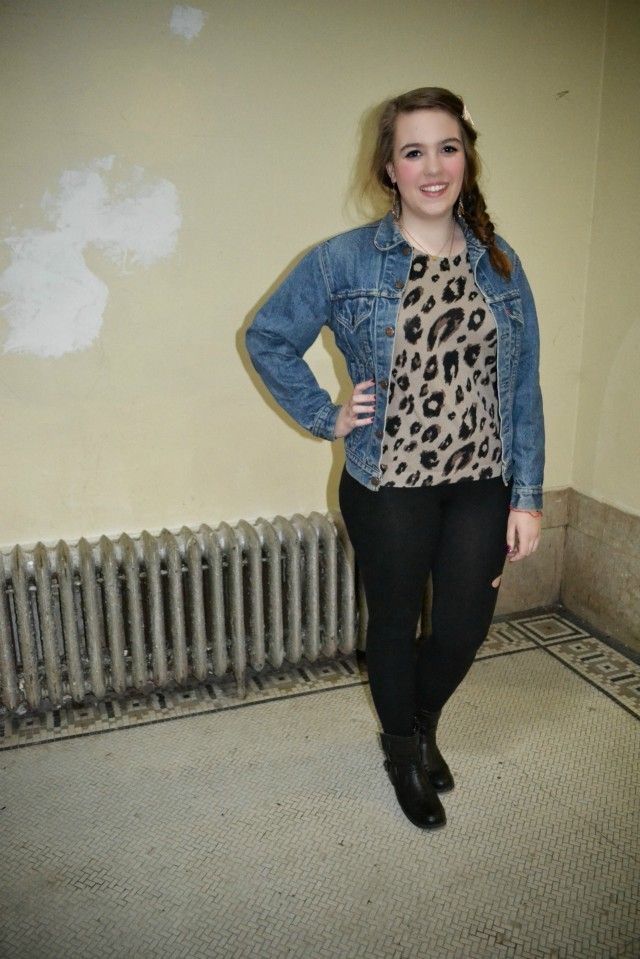 Allie's downtown cool style: Street Style