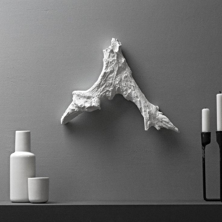 scandinavian landscape wall sculpture by POAST on Etsy
