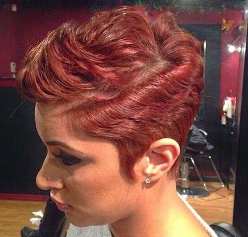 Pixie Hairstyles for Black Women 2015