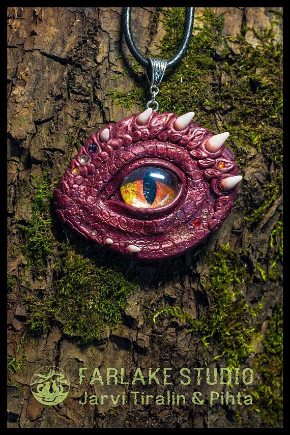 Dragon Eye Amulet Fantasy Art