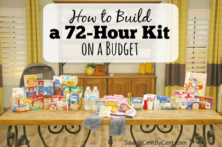 Tragic stories of people who are affected by hurricanes, floods, fires, tsuamis, and more are heard about often. A disaster can happen to anyone at any time.  How would your family cope immediately following a disaster, especially when you won't be able to rely on anyone to help out for days? Here are tips on How to Build a 72-Hour Kit on a Budget so your family will be prepared in case of an emergency.