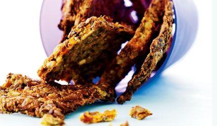 Brød uden mel: gulerodskiks | I FORM