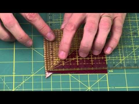 ▶ Patchwork : Technique de découpes rapides - Atelier Edisaxe - YouTube