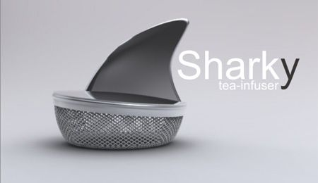 I am a tea fanatic, this is such a cool twist instead of the mesh ball for tea.