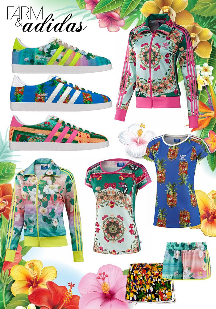 Adidas originals brazil1 adidas Originals Collaborates with The Farm Company Brazil