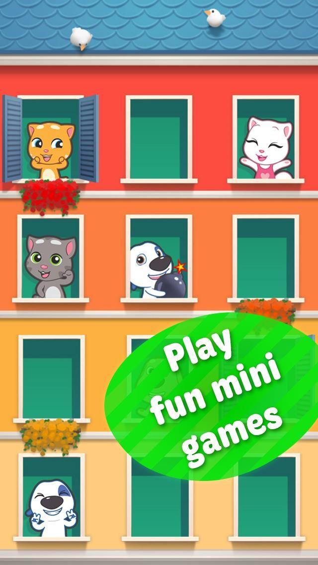 B-) Talking Tom Cat 2 :) who is winner :D   http://thrdl.es/~/4mKm