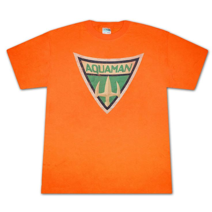 Men's Aquaman Symbol T-Shirt