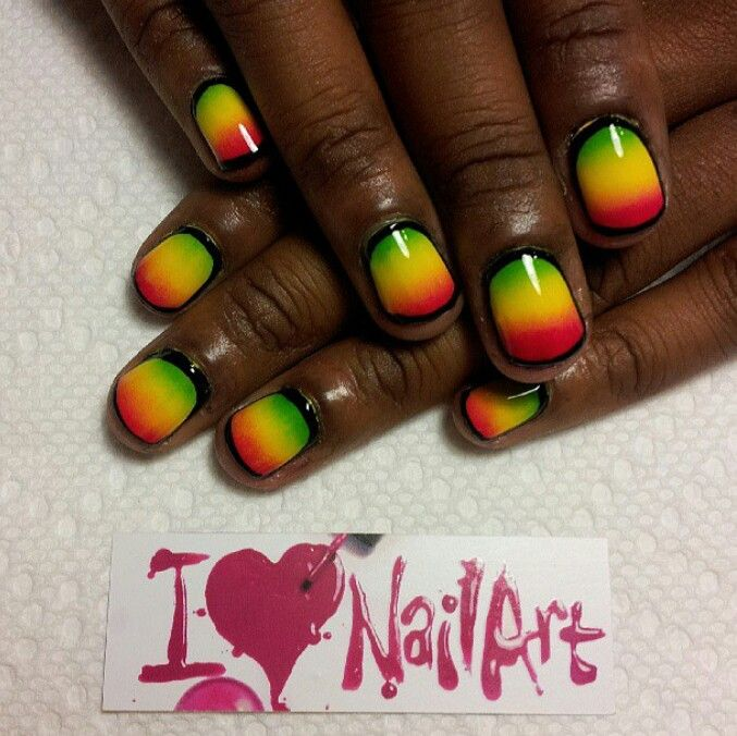 African Nail Art #cute - 38 Best African Touch #Nails Images On Pinterest Africans