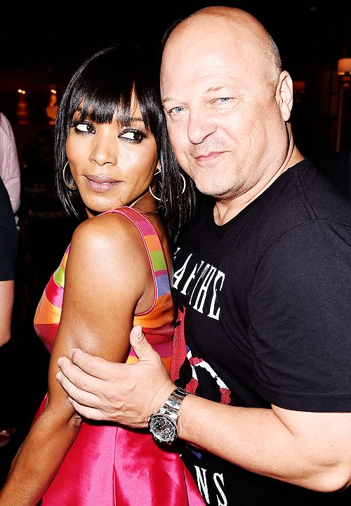 Freak Show cast Angela Bassett & Michael Chiklis, who will be playing a married couple