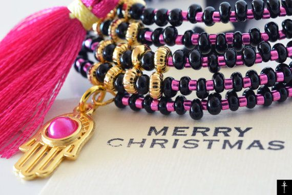 Holidays Christmas Gift-Handmade Wrap Memory Wire by BYTWINS