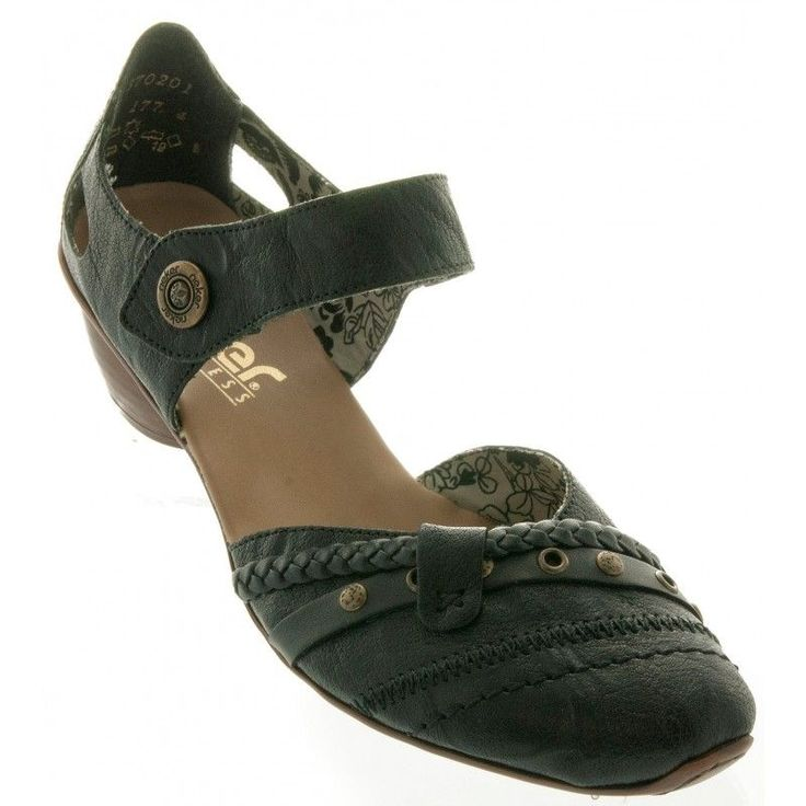 Find women's RIEKER 43702 Closed Toe slingback shoes in black at Becker Shoes online