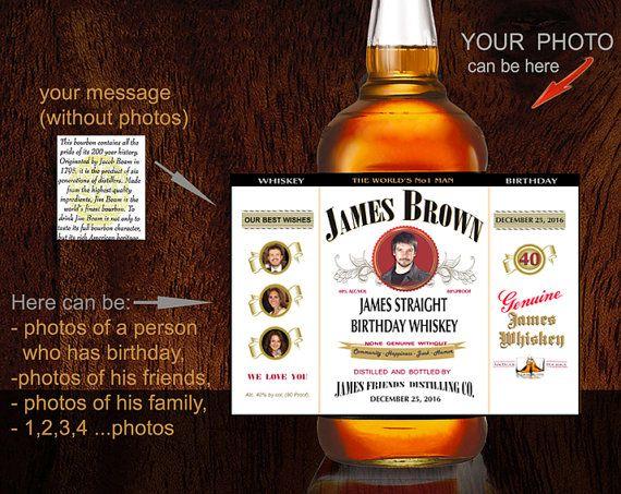 Pin By Kayla Witczak On Gifts Whiskey Label Jim Beam