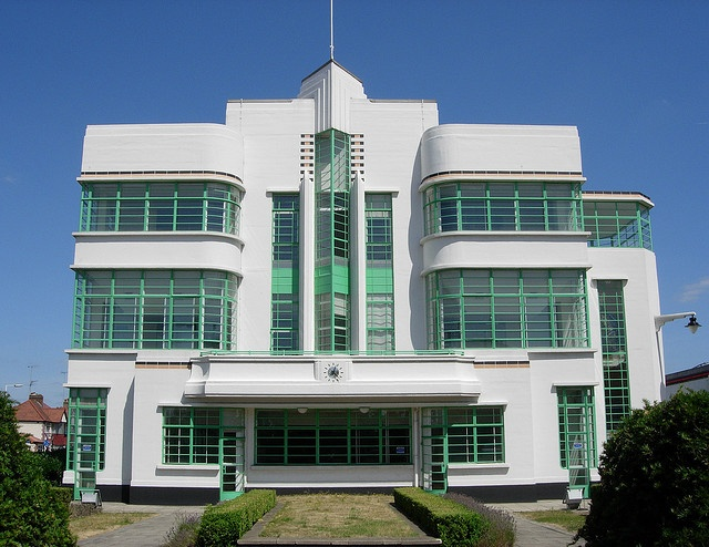 The Hoover Building, Perivale, West London. Built 1931-1935 by Wallis Gilbert and Partners.