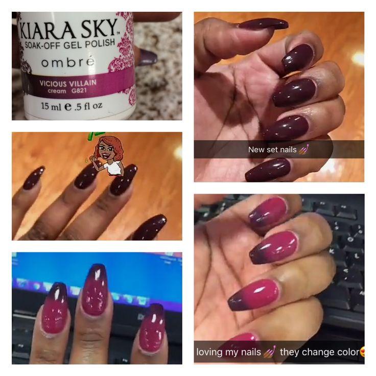 9 best Kiara Sky images on Pinterest | Dip powder, Make up and Nail ...