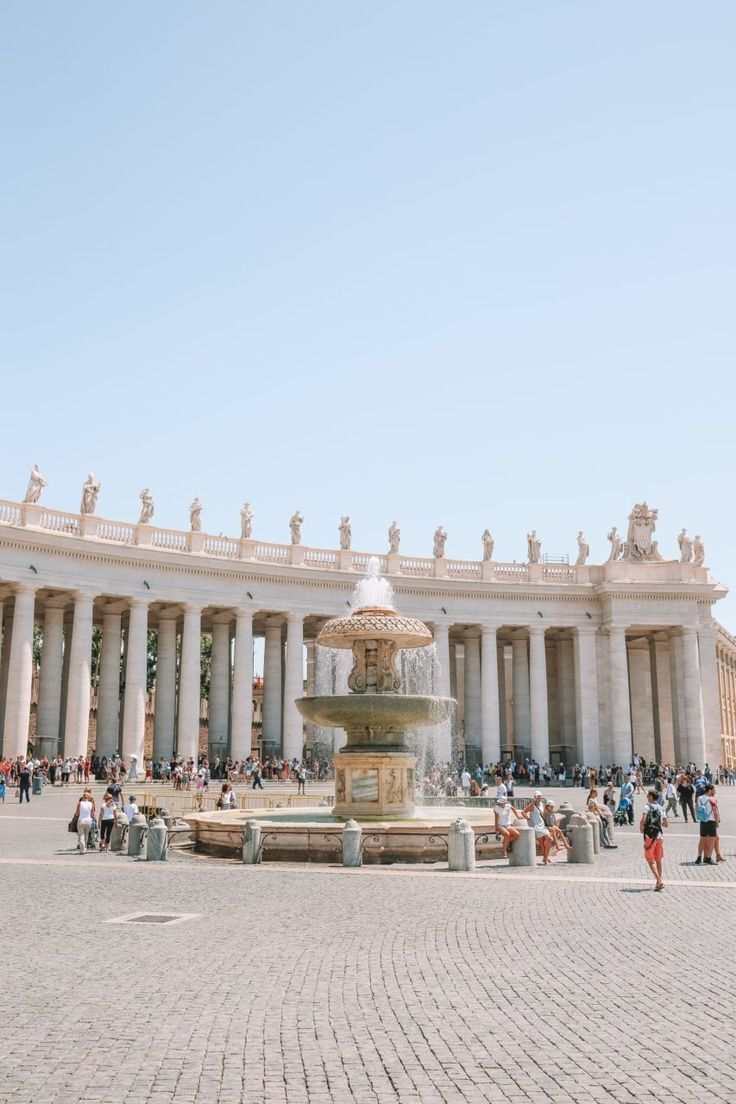 The Magnificent St Peter S Basilica In The Vatican City Rome In 2020 Vatican City Rome St Peter S Basilica Vatican City