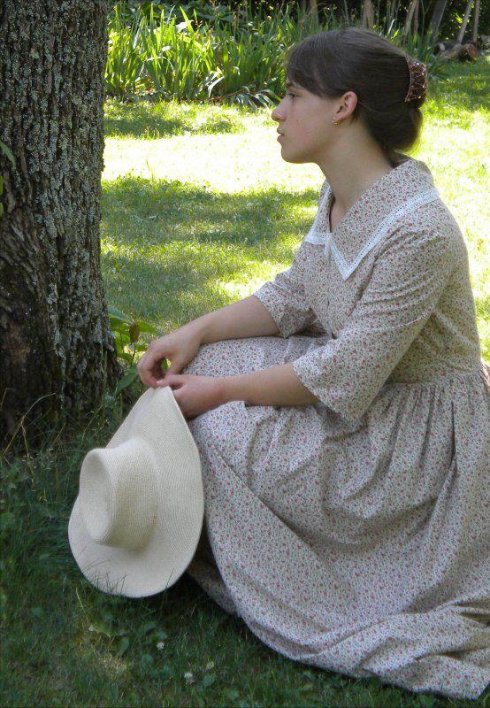 Romantic Era Dress (Sense and Sensibility patterns - http://sensibility.com/patterns/romantic-era-dress-pattern/)