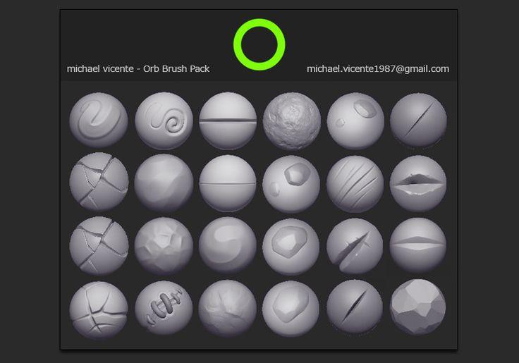 Orb Brush Pack, Michael vicente - Orb on ArtStation at https://www.artstation.com/artwork/9kwVo