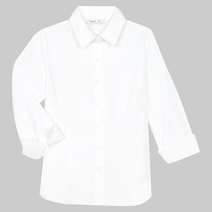 chemise mandy blanche
