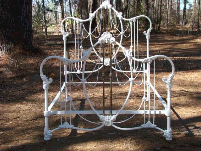 54 best Antique Iron Beds images on Pinterest 34 beds Antique