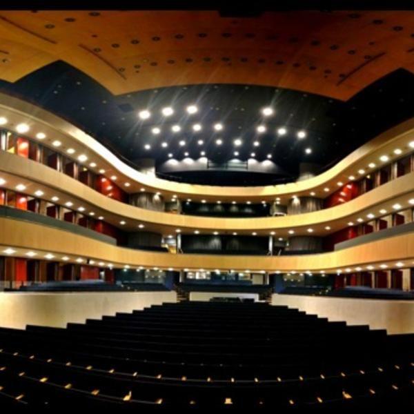 Photo taken at Sibeliustalo / Sibelius Hall (Lahti) by Mika Y. on 3/10/2012