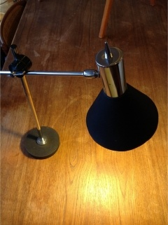 50/60's Swedish desk lamp by Herda.