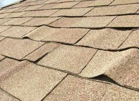 Buckling shingles caused from inappropriate installation of your roofing system.