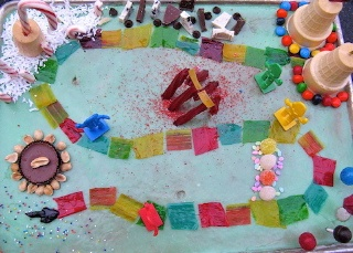 Candy Land Cake to take to neighborhood Game NightCandies Land Cake, Kids Birthday, Birthday Parties, Cake Decor, Candyland Cake, Parties Ideas, Games Night, Fun Cake, Birthday Ideas