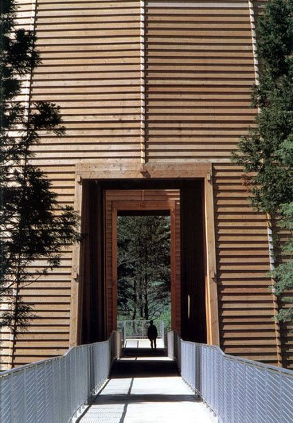 Museum of Wood by Tadao Ando #hyogo #japan #wood #museum #art