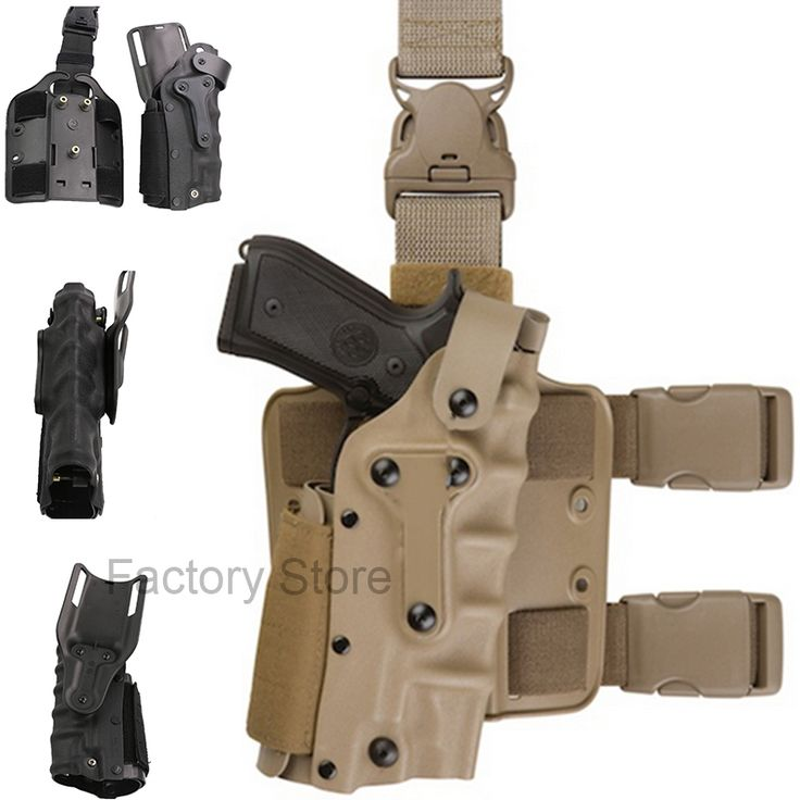 22.48$  Buy here - http://aliy2d.shopchina.info/go.php?t=32735843861 - Tactical Holster Leg Platform Airsoft Gear Tan Black Thigh Gun Holsters For Gl 17 Colt 1911 M92 M9 SIG P2022 P226  #bestbuy