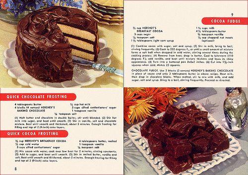 Hershey's Recipes 1949