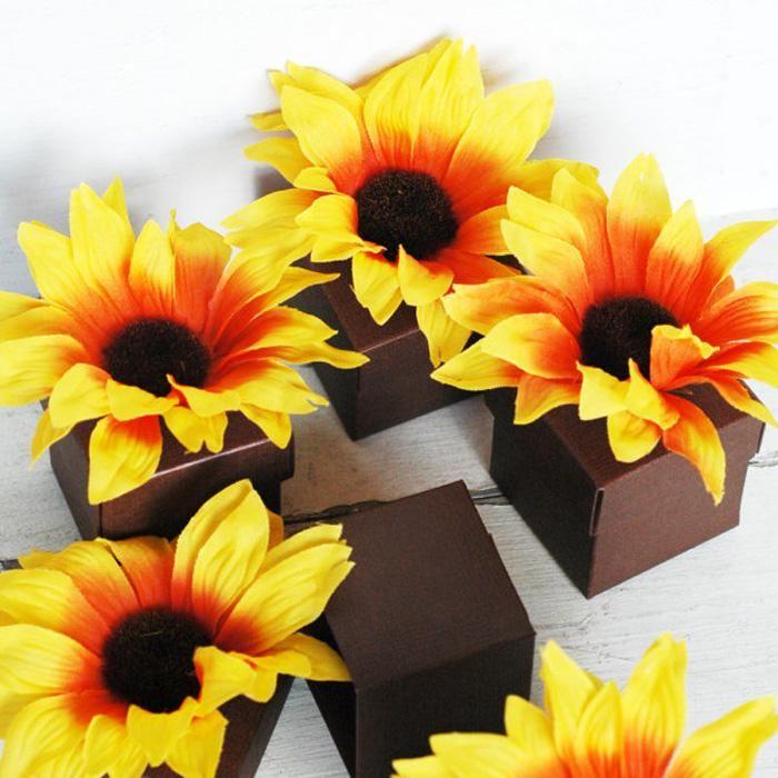 Sunflower Wedding Favors