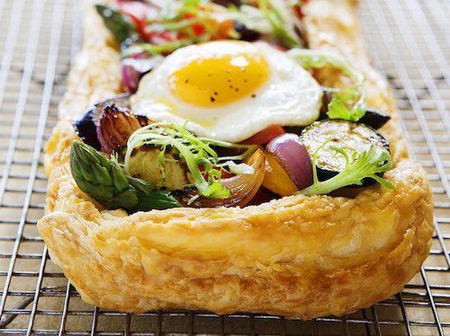 Tarte végétarienne aux œufs : recette facile et rapide