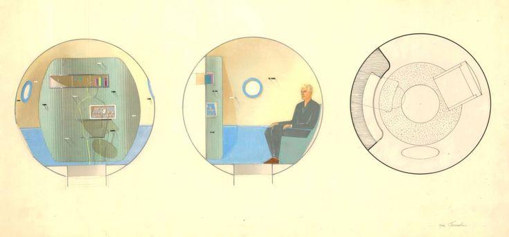 Космическая архитектура возникла, в общем-то, случайно. Зато у этой дисциплины, этого направления в архитектуре (или, точнее, в дизайне интерьера) есть, так сказать, конкретный родоначальник, первооткрыватель - Галина Балашова.