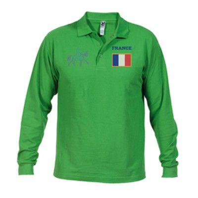 Polo épique de France - Polo Estrella manche longue homme basic
