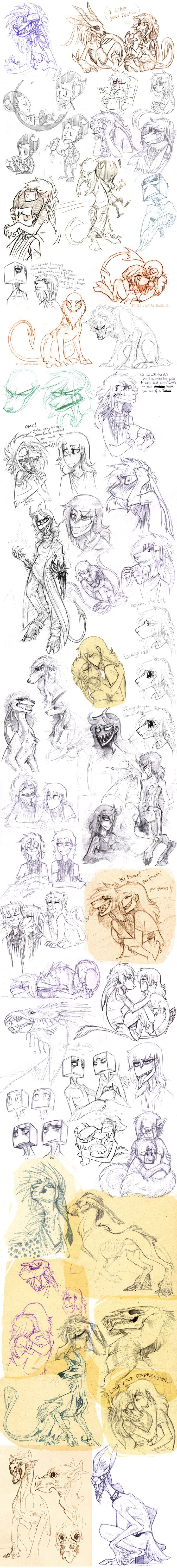 Sketch dump 48 by LiLaiRa on DeviantArt
