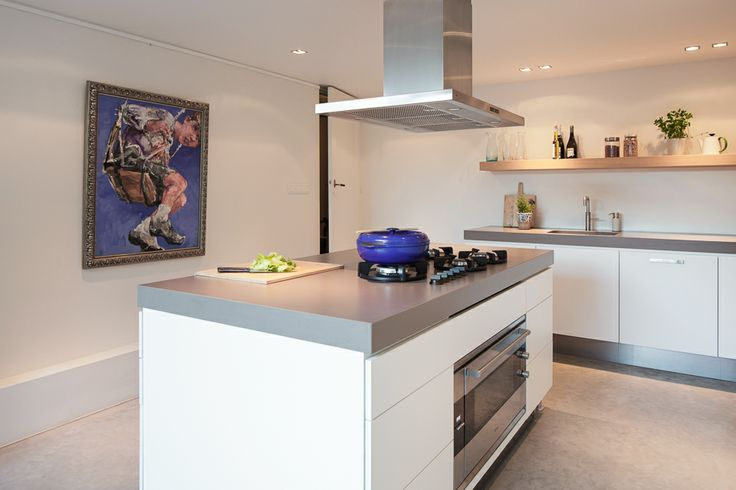 64 beste afbeeldingen over idee n keuken op pinterest moderne keukens houten werkbladen en hut - Centrale eiland houten keuken ...