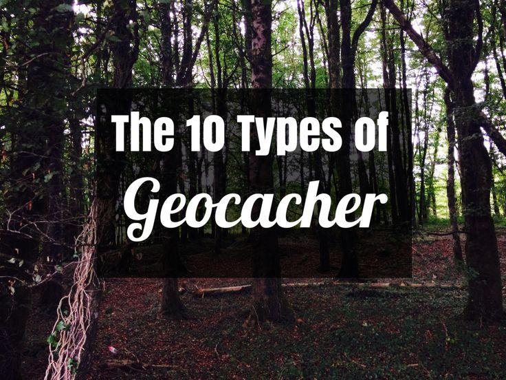 Are you the Mountaineer? Or maybe the Cache & Dasher? Just for fun, let me know which type you think your craziest geocaching self is:)