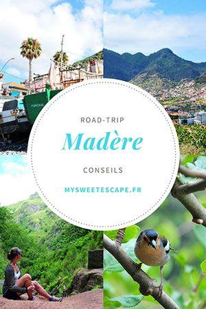 Street-trip à Madère: conseils, informations, itinéraire, que faire, randonner