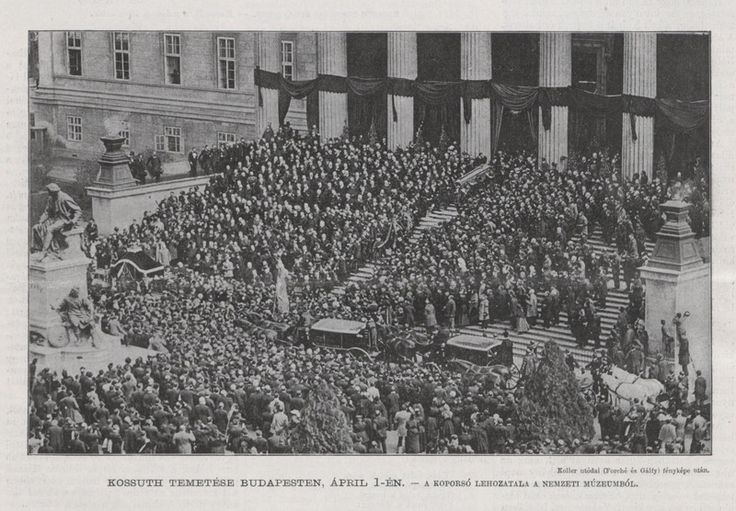 1894. Kossuth Lajos temetése