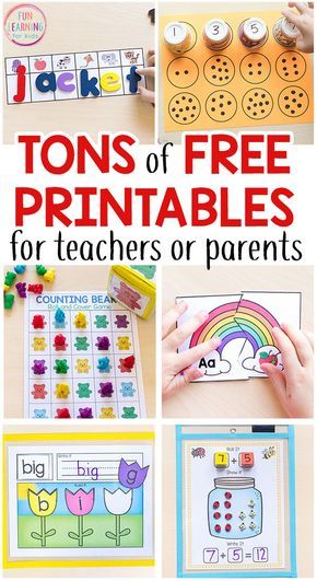 Free Printable Actions for Youngsters